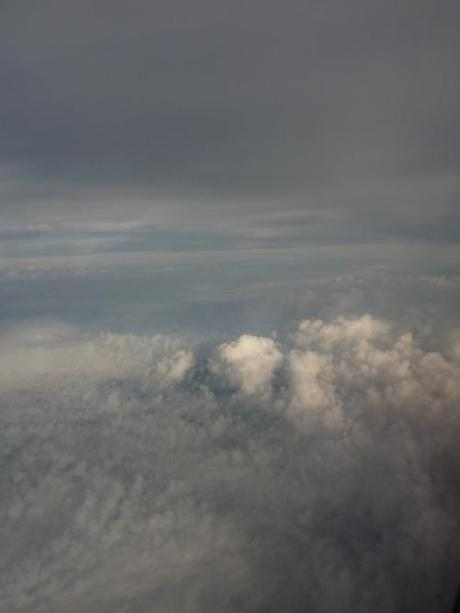 Rolling clouds as I came over the French Coastline via the chanel last night :) xoxo LLM