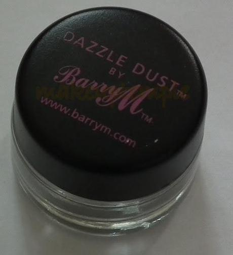 Swatches:Barry M: Barry M Dazzle Dust: Barry M Dazzle Dust No:89 Oyster Swatches