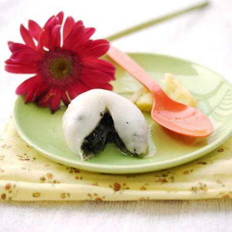 Black and White Glutinous Rice Flour