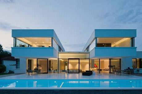 Architect Designs an architect designs his house using hi macs acrylic stone - paperblog