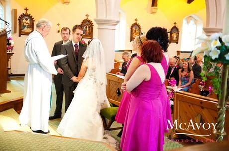 A Midland Hotel wedding – Part 2 – the fabulous Father Dennis takes centre stage