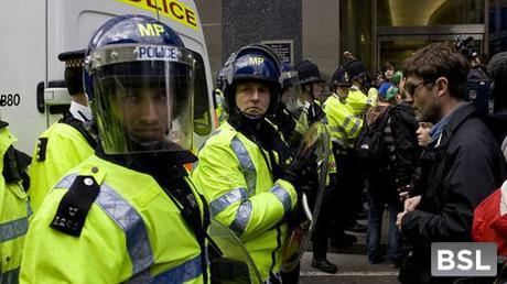 Double your pleasure, double your fun - tougher custodial sentences will not stop austerity demonstrations