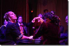 Carolyn Klein as Miss Neal, Elizabeth Bagby as Miss Emery - The Spirit Play