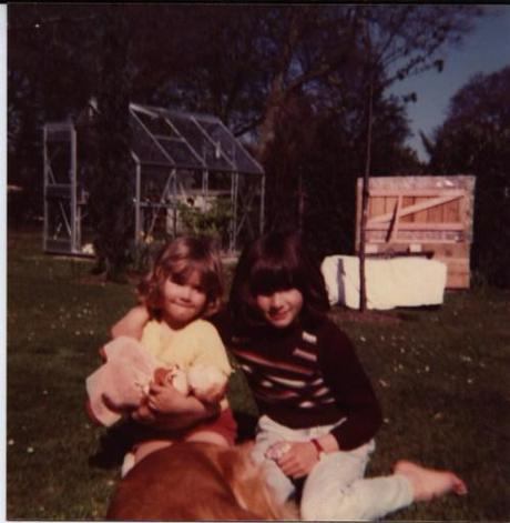 My sister and I (approx 1974)