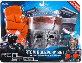 Real Steel Atom costume - role playing set