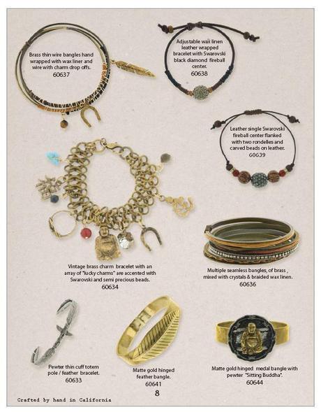 vintage modern bracelets