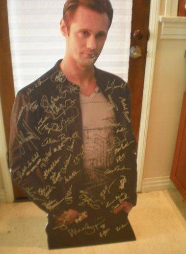 Autographed Alexander Skarsgård Standee Cut-out Auction for Charity