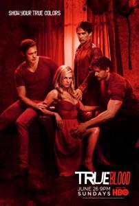 True Blood Season 4 poster red