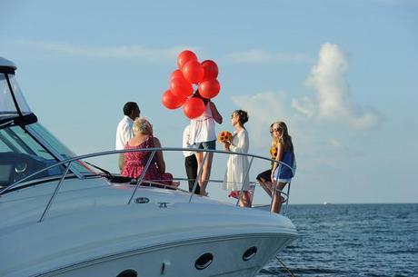 A wedding in the Cayman Islands