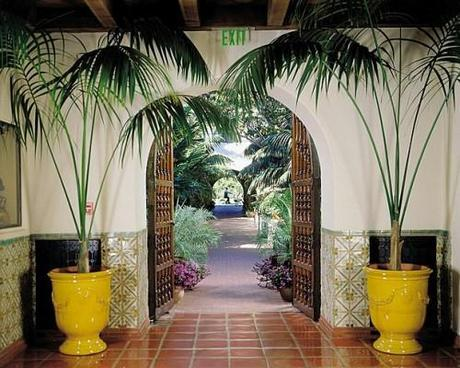 Entrance to the Biltmore Santa Barbara
