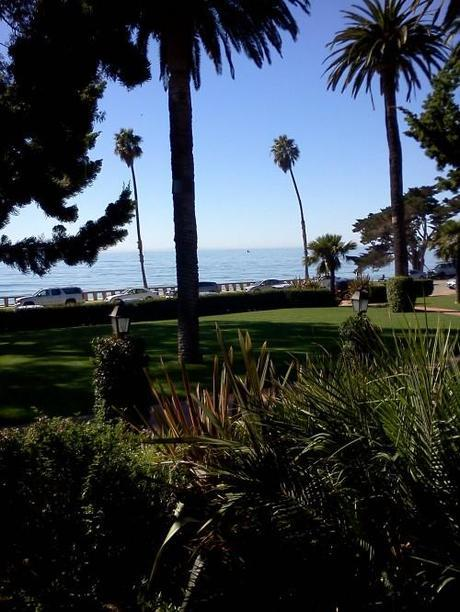 View of Channel Drive from Biltmore Santa Barbara
