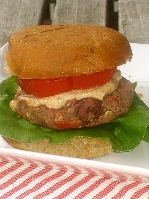 Hot Off The Press: Mediterranean Bean Burgers