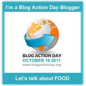 I am proud to take part in Blog Action Day Oct 16, 2011 www.blogactionday.org