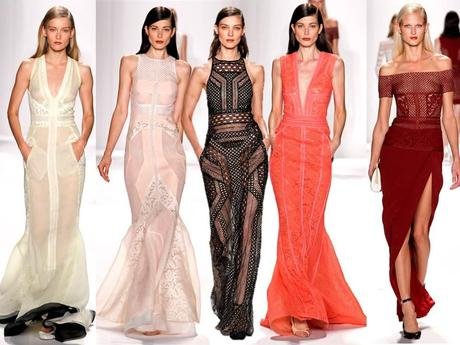 New York Fashion Week - Long dresses at J. Mendel