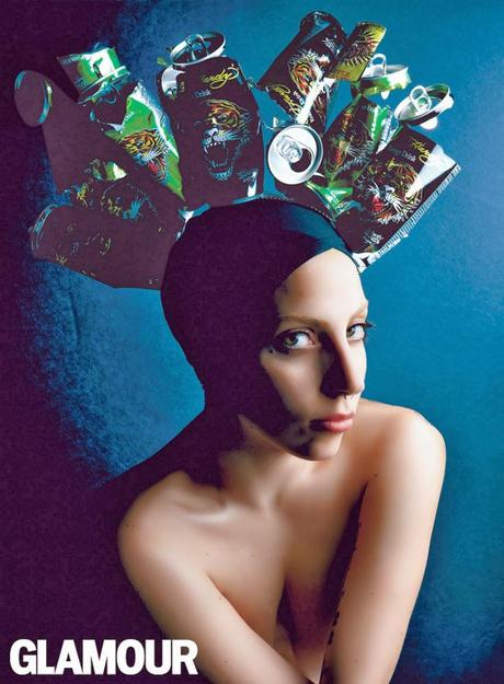 Lady Gaga by Patrick Demarchelier for Glamour December ...