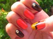 Quick Mani Fall/Halloween! Nail Tools Required!)