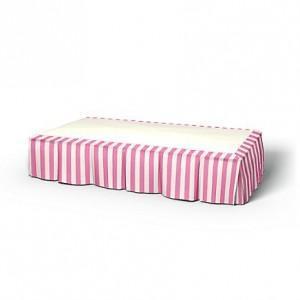 Bemz bed skirt stripe