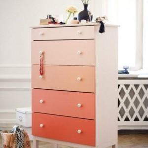 pink ombre chest