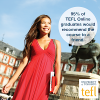 Discount Code for the University of Toronto's Online TEFL Certificate