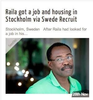 This Swedish Jobs Web Site Is a Bit tvivelaktig (questionable)