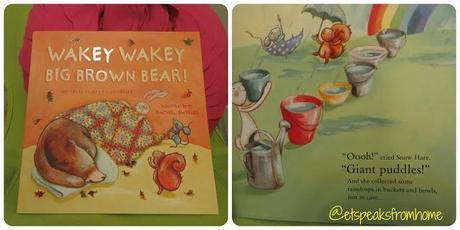 Book Review: Wakey Wakey Big Brown Bear