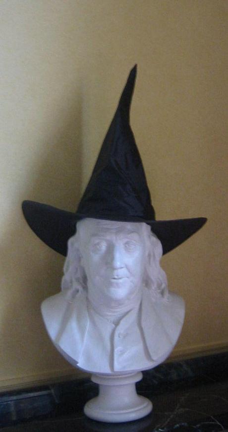 Ben prepares for Halloween