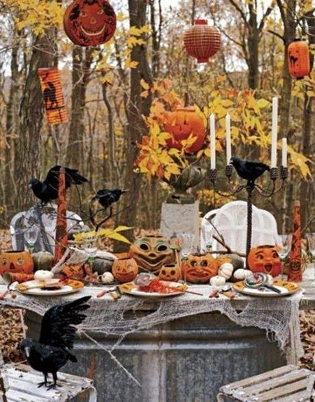 Halloween table decoration14 20 Ideas for Halloween Table Decoration