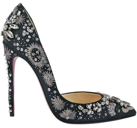 Christian Louboutin Artifice 120 Satin Black, $3,365