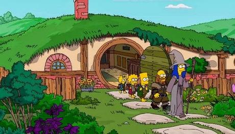 Hilarious 'Simpsons' Opening Scene Mimics The Hobbit
