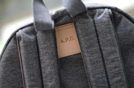 apc x eastpak backpack detail
