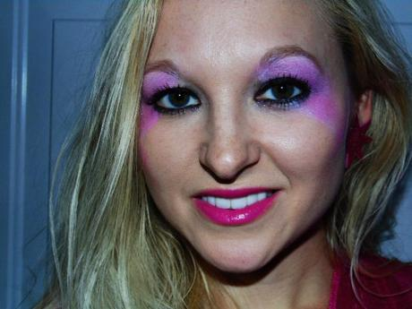 Jem the holograms costume review paperblog jem makeup ccuart Images