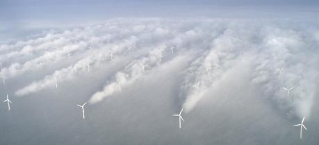 Horns wind farm in Denmark.