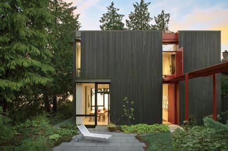 slideshow cedar clad home in seattle