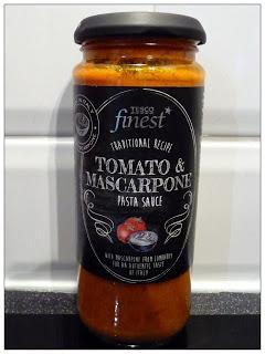Review Tesco Finest Tomato And Mascarpone Pasta Sauce