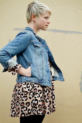 Look of the Day: Apricot Leopard