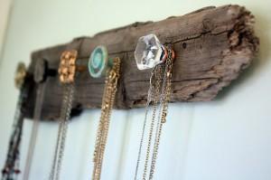 Photo jewelry display.