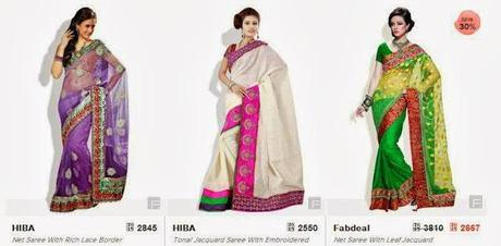 10+ Websites to Shop for Sarees Online