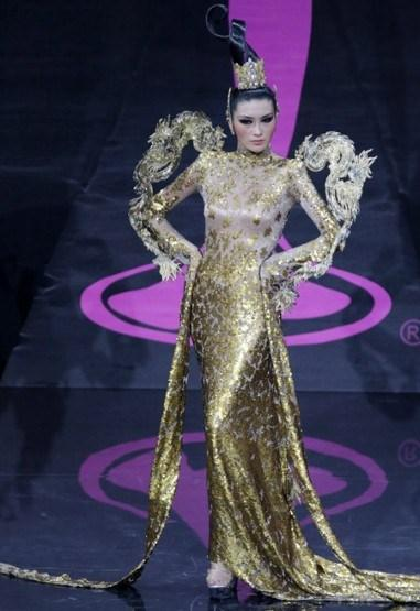 Miss China actually looked quite chic
