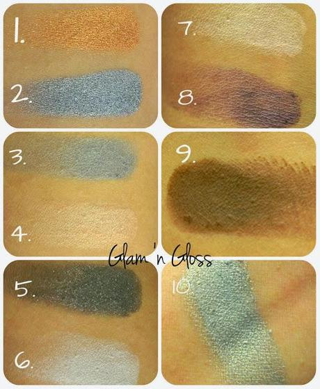 Estee Lauder Eyeshadows Guide and Swatches