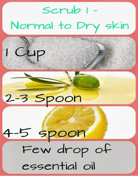 Home- Made body scrub