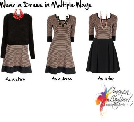 Wear a Dress in Multiple Ways