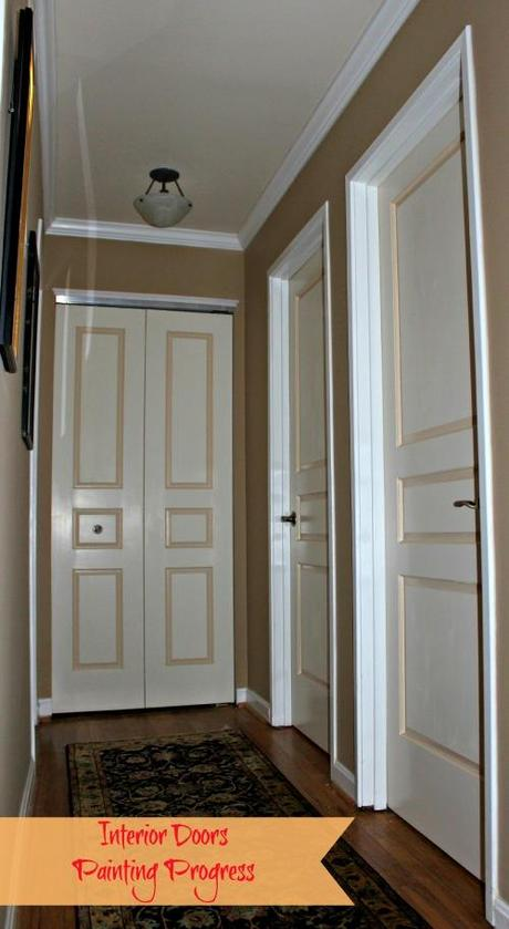 simone design blog painting interior doors in two colors see how we. Black Bedroom Furniture Sets. Home Design Ideas