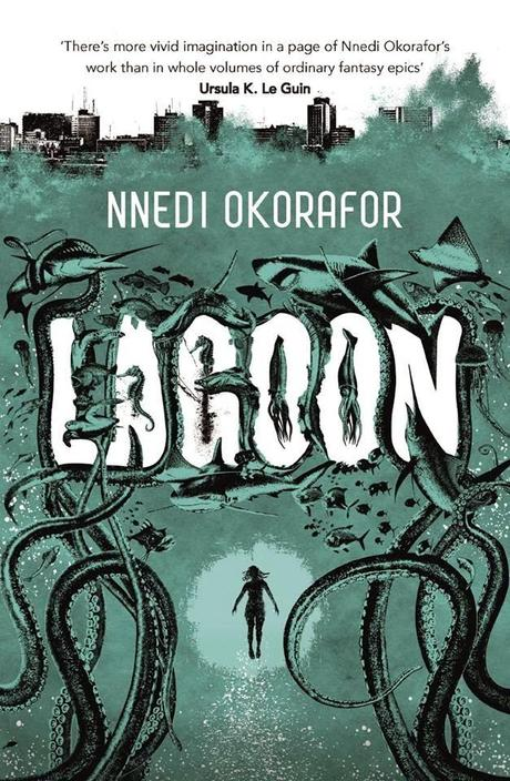 Judging a Book by its Cover: Nnedi Okorafor's 'Lagoon' designed by Joey Hi-Fi