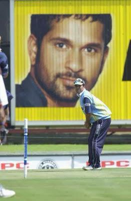 Sachin Tendulkar plays at Eden Gardens, Kolkatta.... what is 199 !!!