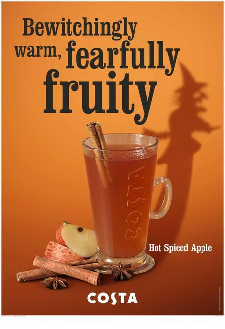 Costa's Hot Spiced Apple Drink Review
