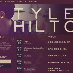 Tyler Hilton | BandsInTown | WordPress Plugin