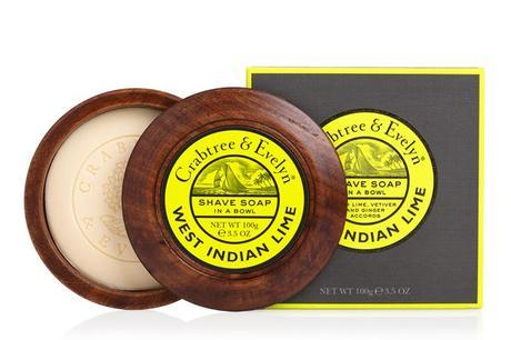 Crabtree & Evelyn West Indian Lime Shave Soap