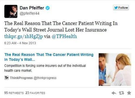 Dan Pfeiffer's tweet