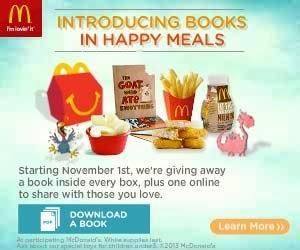 Get a Book in Your McDonald's Happy Meal