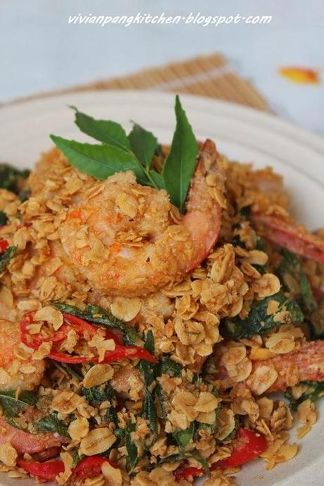 Rolled Oats Prawn